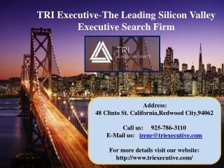 TRI Executive-The Leading Silicon Valley Executive Search Firm