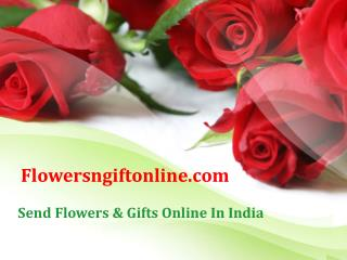 Buy/Send Red Rose Flowers and Valentine Teddy Bear Online in India - Flowersngiftonline