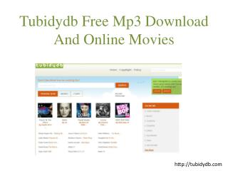 Tubidy Mobile Mp3 Music Downloads