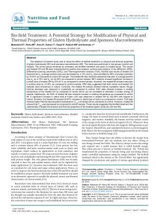 Alteration in Thermal Properties of Ipomoea Macroelements