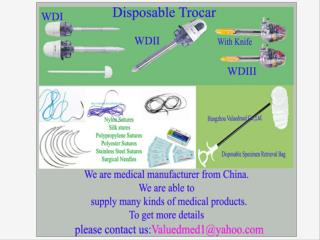 Medical supplier from China