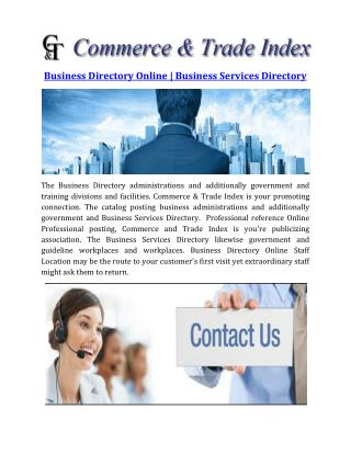 Business Directory Online | Business Services Directory