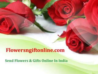 Buy/Send Red Rose Flowers and Valentine Gifts Online - Flowersngiftonline
