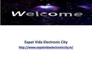 Expat Vida Electronic City