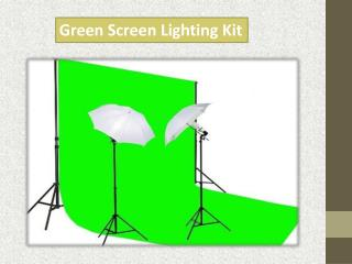 Green Screen Lighting Kit