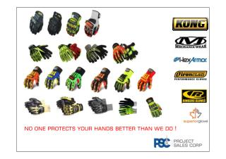 PSC Impact Glove Selection Guide 2016