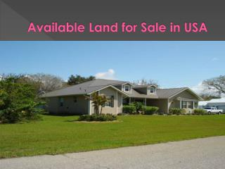 USA land for sale