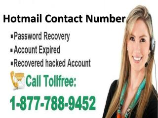To contact Hotmail call Hotmail contact 1-877-788-9452 tollfree number