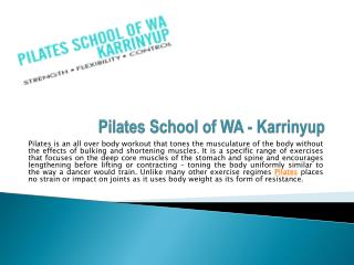 Best Pilates Classes in Perth