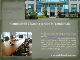 Commercial Cleaning service Ft. Lauderdale