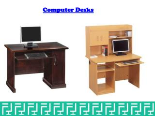 Computer desks at office stock™
