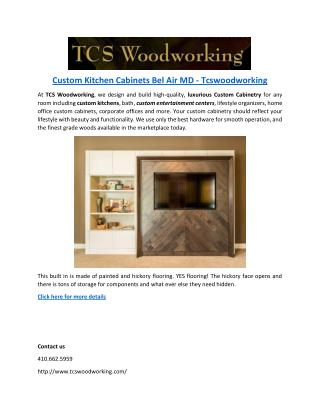 Custom Kitchen Cabinets Bel Air MD - Tcswoodworking