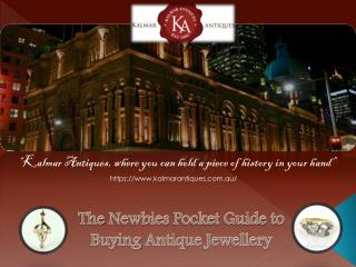 Tips of purchasing timeless antique jewellery