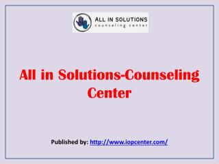All In Solutions-Counseling Center