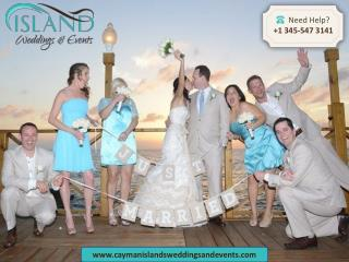 Let us help you in planning a perfect barefoot beach wedding in Cayman
