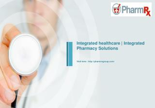 Comprehensive pharmacy services | Point of care