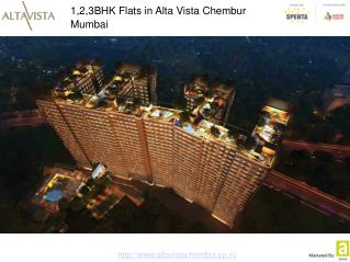 Spenta AltaVista: 1 BHK Flats in Chembur For Sale