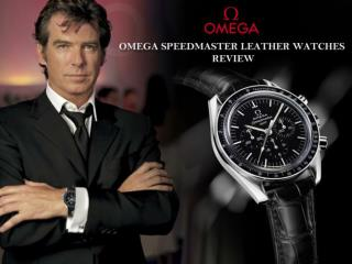 Omega Speedmaster Leather Watches Review