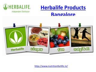 Herbalife Products Bangalore