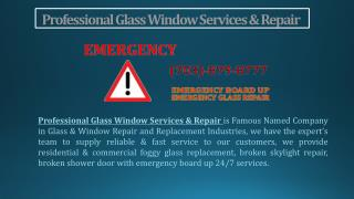 Expert in Broken Glass Repair | Baltimore MD