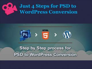 PSD to WordPress Conversion! step by step process