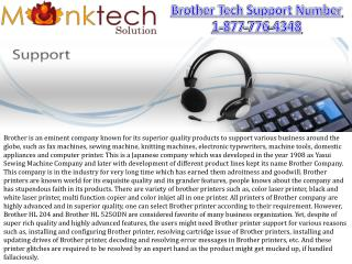 Brother Printer Customer Support Number !!@@!! Toll free 1-877-776-4348