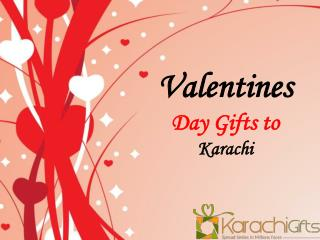 Valentines Day Gifts to Karachi
