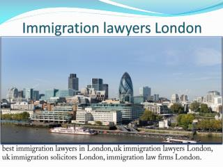immigration law firms London