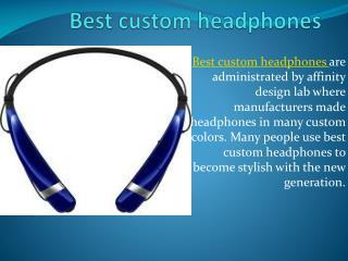 Headphone manufacturers