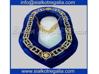 Blue lodge Mason chain collar