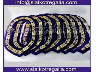 Grand Lodge chain collar Gold