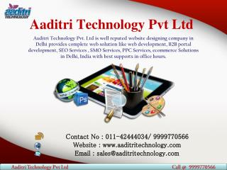 A Top Web Designing Company in Delhi, India