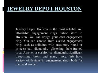 Best Engagement Ring In Houston