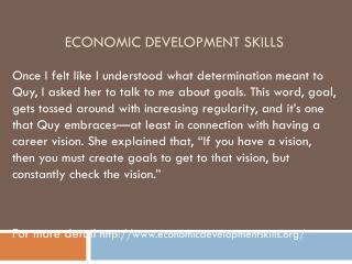 www.economicdevelopmentskills.org