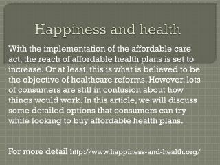 www.happiness-and-health.org