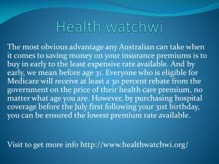 www.healthwatchwi.org