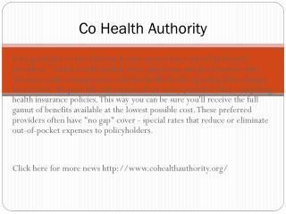 www.cohealthauthority.org