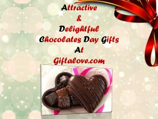 Attractive & Delightful Chocolates Day Gifts at Giftalove.com!