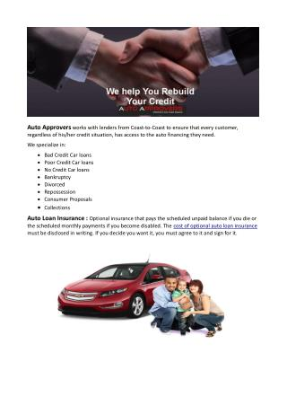 Looking For Auto Loans Online