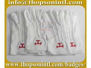 Masonic Royal Arch Polyester Gloves