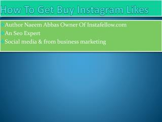 Buy Instagram Likes For Business