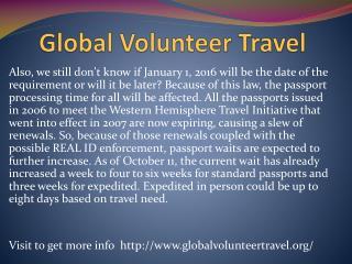 www.globalvolunteertravel.org