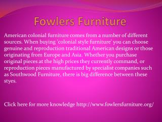 www.fowlersfurniture.org