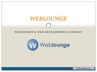 Weblounge – Web Design and Development, Mobile App Development Company