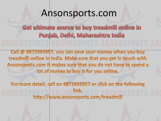 Get ultimate source to buy treadmill online in punjab, delhi, maharashtra india