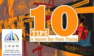 10 tips to improve your Poster printing