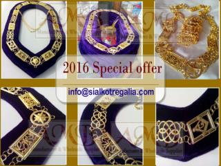 Grand Lodge Metal chain collar