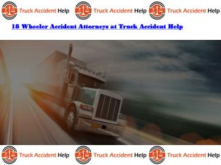 18 Wheeler Accident Attorneys