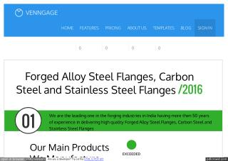 Forged Alloy Steel Flanges, Carbon Steel and Stainless Steel Flanges