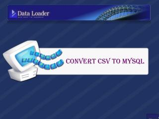 Tips to Convert MS Access, CSV and Foxpro to MySQL Faster